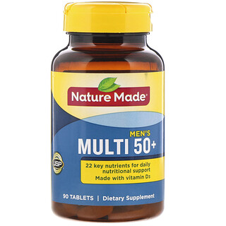 Nature Made, Men's Multi 50+, 90 Tablets