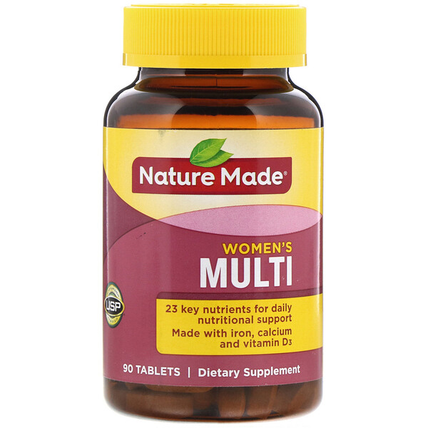 Nature Made, Women's Multi, 90 Tablets