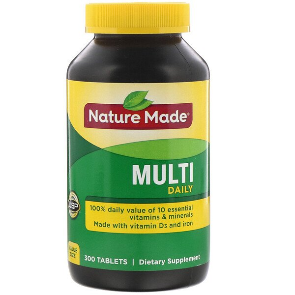 Nature Made, Multi, Daily, 300 Tablets