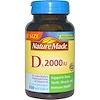Nature Made, D3, 2000 IU, 250 Softgels