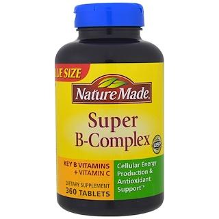 Nature Made, Super-B Complex, 360 Tablets