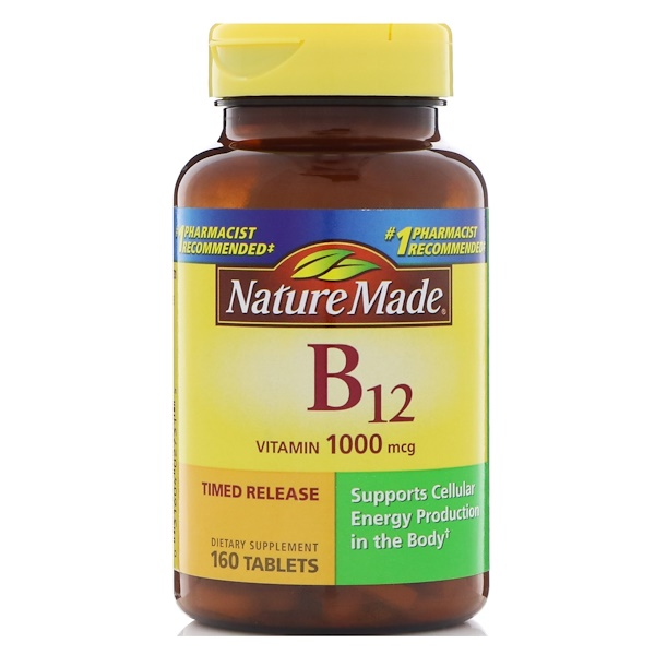 Nature Made, B12維生素,1000毫克,160粒