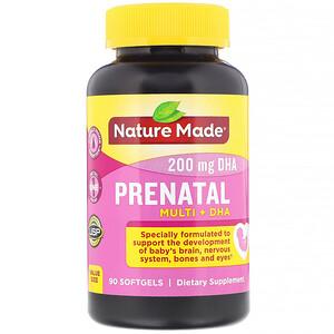 Натуре Маде, Prenatal Multi + DHA, 90 Softgels отзывы