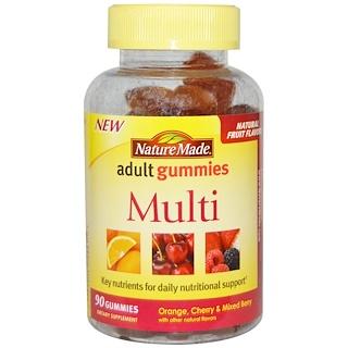 Nature Made, Adult Gummies, Multi, 90 Gummies
