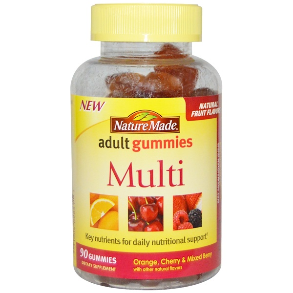 Nature Made, Adult Gummies, Multi, 90 Gummies