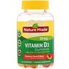 Nature Made, Vitamin D3 Gummies, Strawberry, Peach & Mango, 50 mcg, 90 Gummies