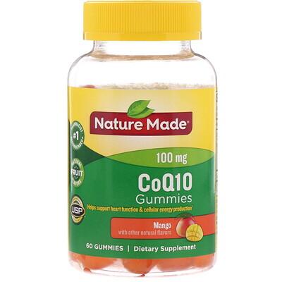CoQ10 Gummies, Mango, 60 Gummies недорого