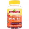 Nature Made, Энергетические жевательные таблетки с витамином B12, вишня и смесь ягод, 1000мкг, 80жевательных таблеток