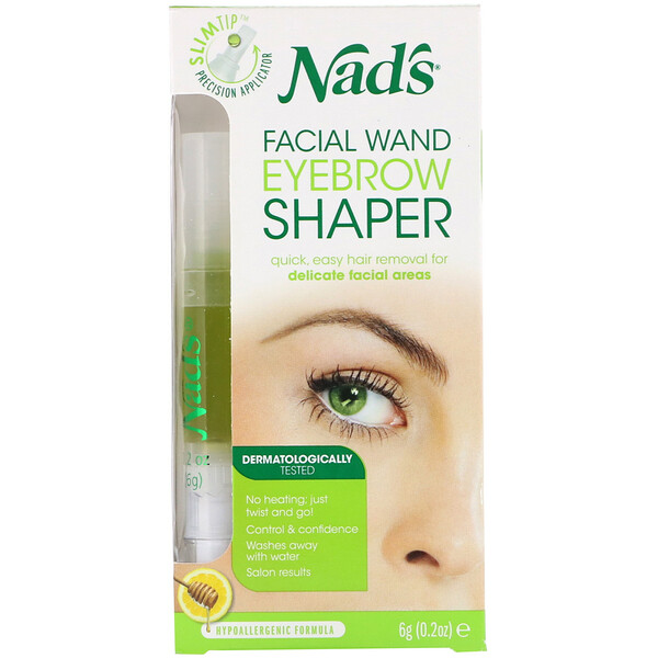 Nad's, Facial Wand Eyebrow Shaper, 0.2 oz (6 g)