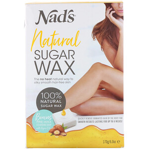 Nad's, Natural Sugar Wax, 6 oz (170 g) отзывы