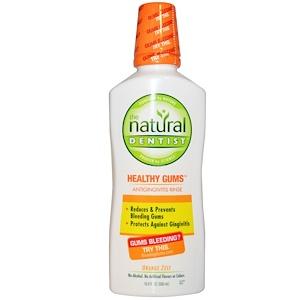 Натурал Дантист, Healthy Gums, Antigingivitis Rinse, Orange Zest, 16.9 fl oz (500 ml) отзывы покупателей
