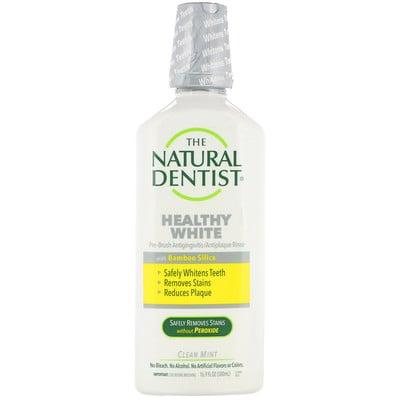 Healthy White, Pre-Brush Antigingivitis/Antiplaque Rinse, Clean Mint, 16.9 fl oz (500 ml)