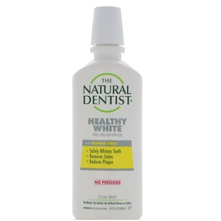 Natural Dentist, Healthy White, Pre-Brush Rinse, Clean Mint, 16.9 fl oz (500 ml)