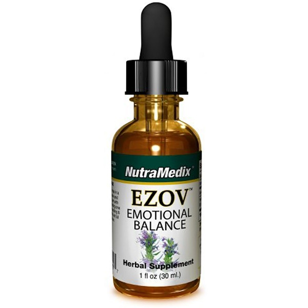 NutraMedix, Ezov, Emotional Balance, 1 fl oz (30 ml) (Discontinued Item)