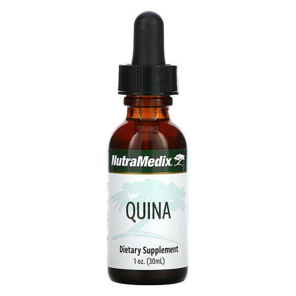 NutraMedix, Quina, Défense microbienne-L, 1 fl oz (30 ml)