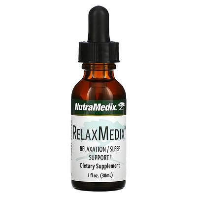 Купить NutraMedix RelaxMedix, Relaxation/Sleep Support, 1 fl oz ( 30 ml)