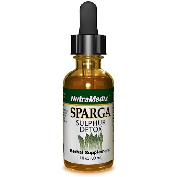 NutraMedix, Sparga, Sulphur Detox, 1 fl oz (30 ml) (Discontinued Item)
