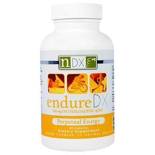 Natural Dynamix, Endure DX, Perpetual Energy, 30 Capsules