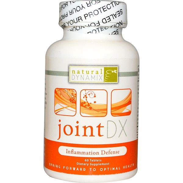 Natural Dynamix, Joint DX, 60 Tablets (Discontinued Item)