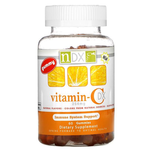Vitamin-C DX, 254 mg, 60 Gummies