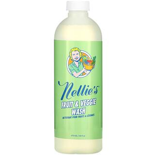 Nellie's, Fruit & Veggie Wash, 16 fl oz (474 ml)