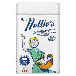 Nellie's, Laundry Soda, 100 Loads, 3.3 lbs (1.5 kg)