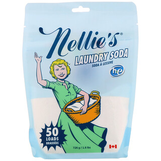 Nellie's, 洗衣粉,50 份,1.6 磅(726 克)