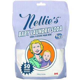 Nellie's, Baby Laundry Soda, 50 Loads, 1.6 lbs (726 g)