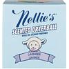 Nellie's, 香り付きドライヤーボール、ラベンダー、ドライヤーボール1個