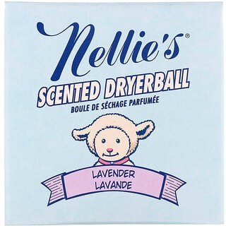 Nellie's, Scented Dryerball, Lavender, 1 Dryerball