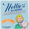 Nellie's, 香り付きドライヤーボール、シトラス、ドライヤーボール1個