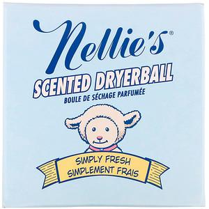 Нэллис Ол Нэчурал, Scented Dryerball, Simply Fresh, 1 Dryerball отзывы