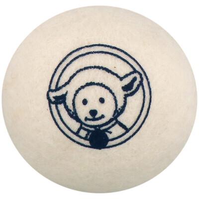 Сушильные шарики из овечьей шерсти, упаковка из 4штук