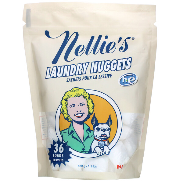 All Natural, Laundry Nuggets, 36 Loads, 1.13 lbs (500 g)