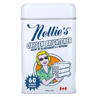 Nellie's, Lata de blanqueador oxigenado, 900g (2lb)