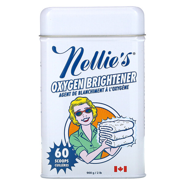 Nellie's, Oxygen Brightener Tin, 2 lbs (900 g)