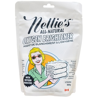 Nellie's All-Natural, 酸素系漂白剤 1.764 lbs (800 g)
