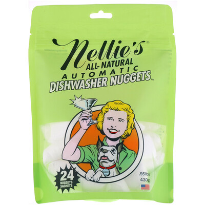 Nellie's Dishwasher Nuggets, 24 Nuggets, .95 lbs (430 g)