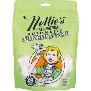 Nellie's All-Natural, All-Natural, Automatic Dishwasher Nuggets, 24 Nuggets, .95 lbs (430 g)