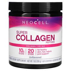 Neocell, 超級膠原蛋白肽,原味,7 盎司(200 克)