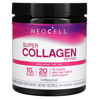 Neocell, Peptides Super Collagen, Non aromatisés, 200g