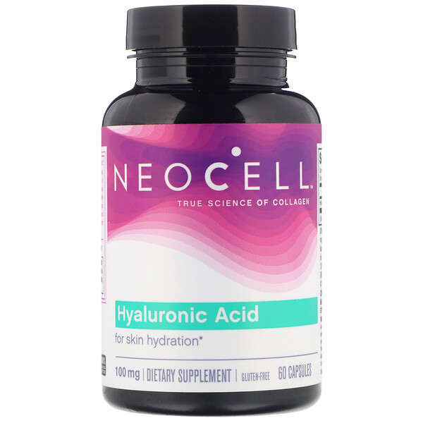 Acide hyaluronique, 100 mg, 60 capsules