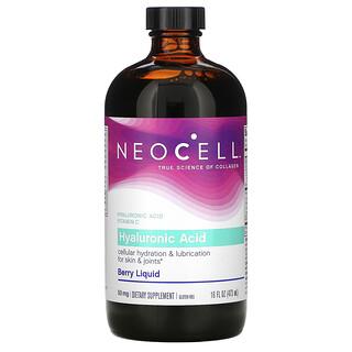Neocell, Hyaluronic Acid, Berry Liquid, 50 mg, 16 fl oz (473 ml)