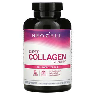 Neocell, SuperCollagen con vitaminaC, 250comprimidos