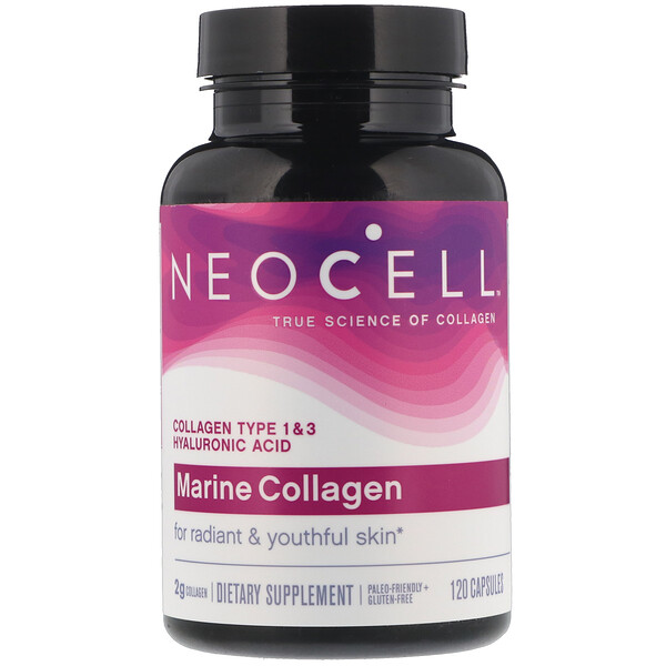 Marine Collagen, 120 Capsules
