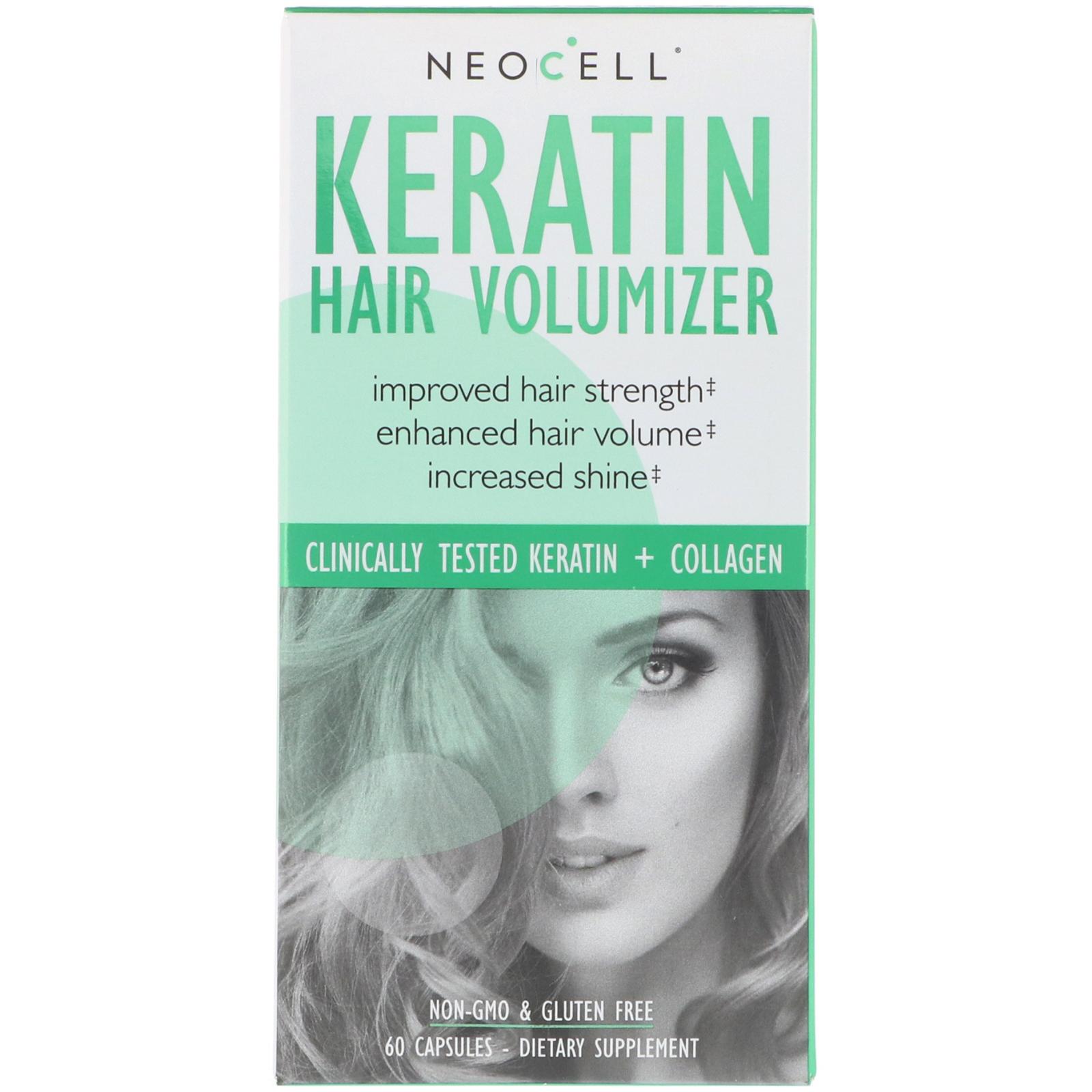 Keratine cheveux gelules