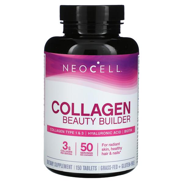 Neocell, كولاجين بناء الجمال، 150 قرص