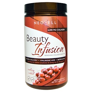 Neocell, Beauty Infusion、Cranberry Cocktail、11.64オンス(330 g)