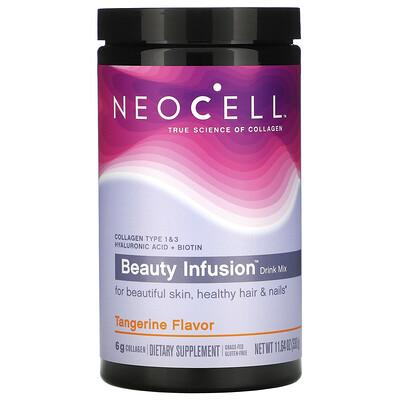 Купить Neocell Beauty Infusion, витаминная смесь для напитков, мандарин, 330г (11, 64унции)