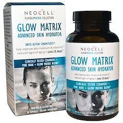 Neocell, Glow Matrix, Hidratante Avançado da Pele, 90 Cápsulas